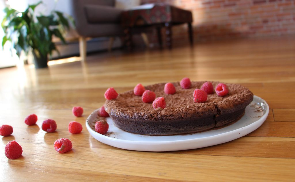Gluten Free Flourless Chocolate Torte