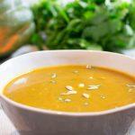 Soupe de butternut au curry