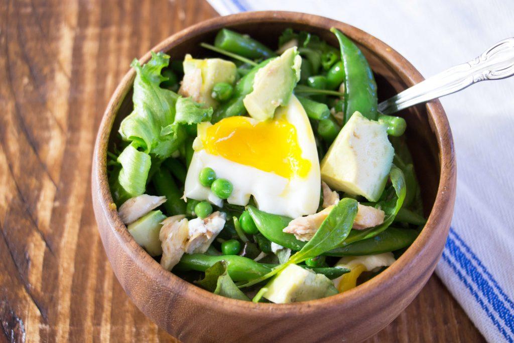 Salade de maquereau et haricots verts