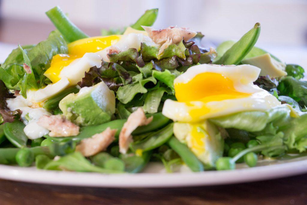 Mackerel and green bean salad 4