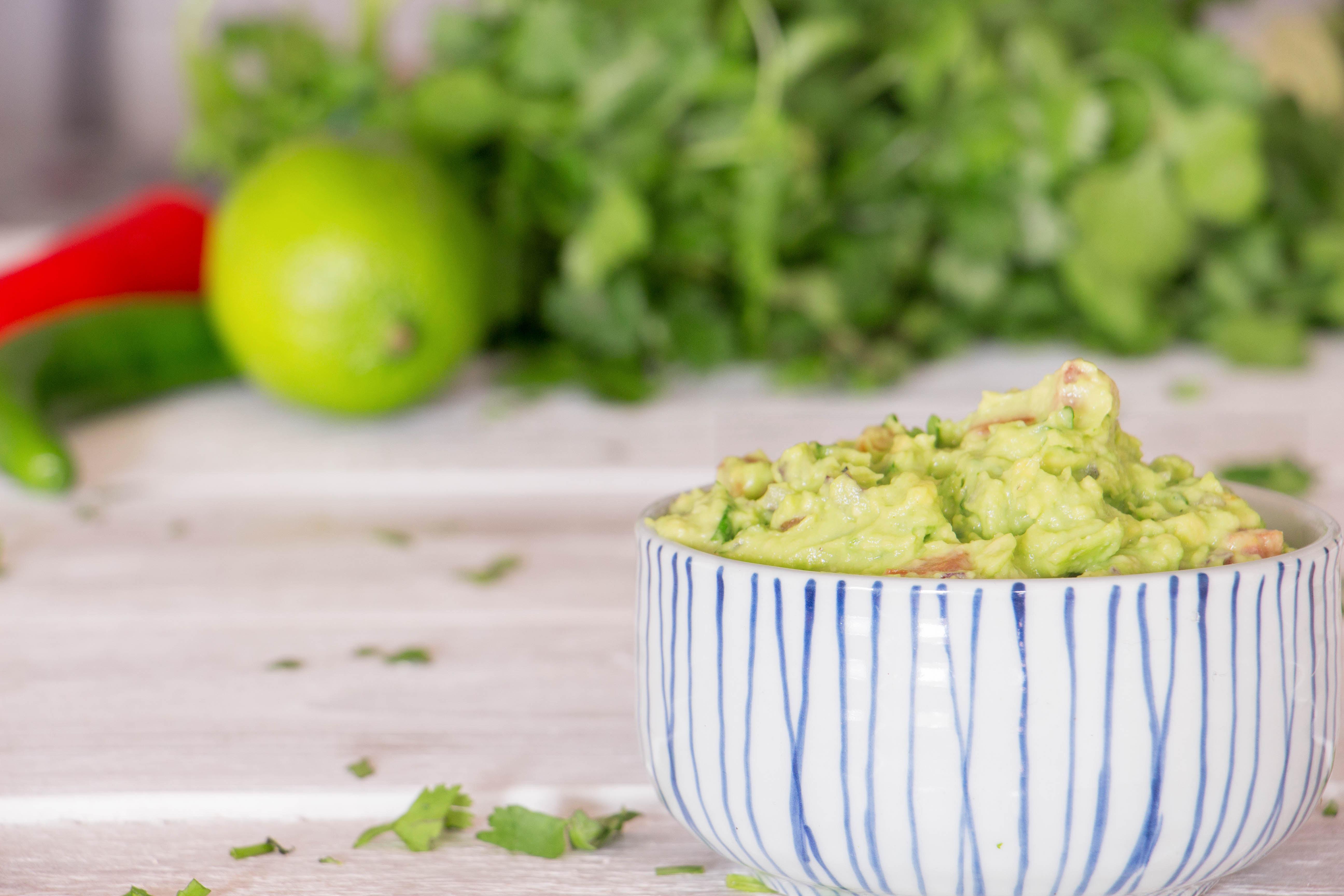 Le parfait guacamole fait maison Recette | Pescetarian.Kitchen