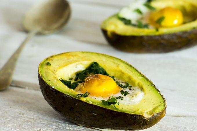 Petit Déjeuner D'œufs Cocotte Avocat
