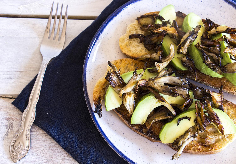 Avocado Mushroom Toast Recipe